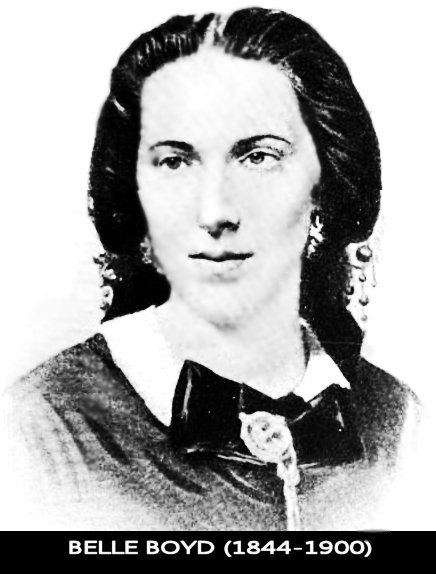 the life of isabelle boyd a civil war spy Belle boyd was one of the most famous confederate spies during the american civil war (1861–1865), repeatedly and under dangerous circumstances managing to relay information on union troop strengths and movements to confederate commanders in the field according to confederate general.