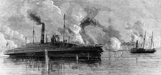 Capture of the Federal gunboats, Sachem and Clifton