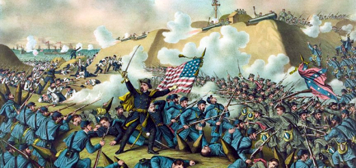 Capture of Fort Fisher (by Kurz and Allison)