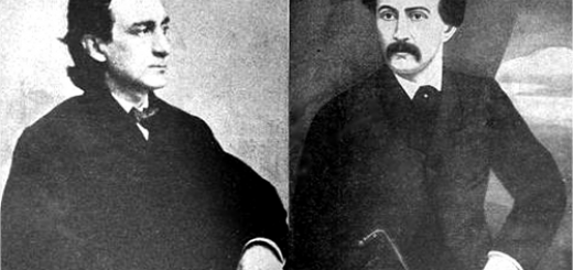 Edwin Booth and John Wilkes Booth