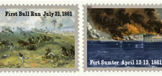 2011 Civil War Stamps