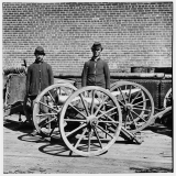 Confederate Mountain Howitzers, Richmond VA (1865)