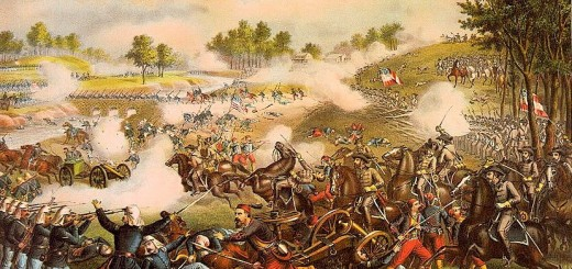 First Battle of Bull Run by Kurz and Allison
