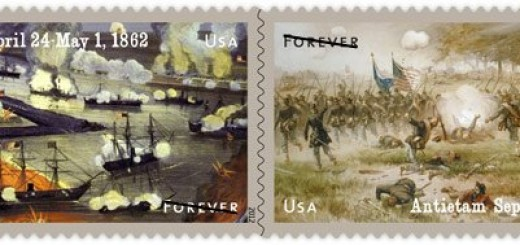 2012 Civil War commemorative stamps
