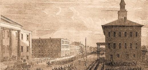 Sherman's Army Entering Savannah
