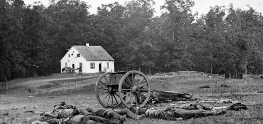 Dead in Front of Dunker Church Antietam