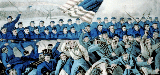 Battle of Malvern Hill by Currier and Ives