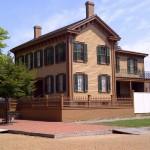 Abraham Lincoln Home Springfield IL in 2012
