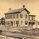 Abraham Lincoln at home in Springfield