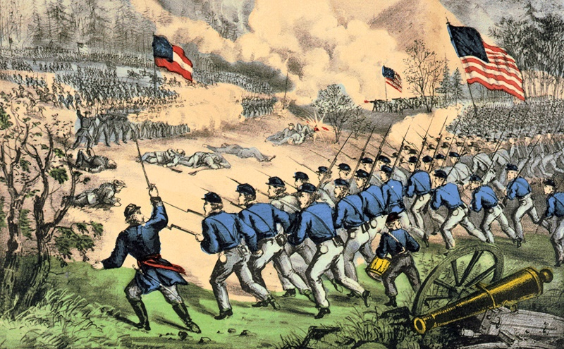 Confederate Surrender Or Just Fight
