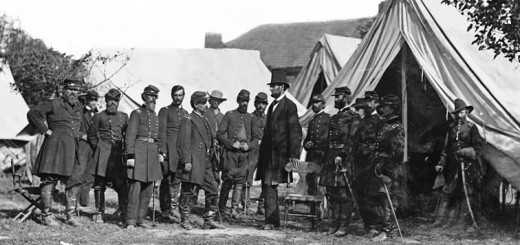 Lincoln and McClellan at Antietam
