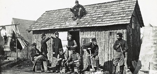 Enlisted men's winter quarters