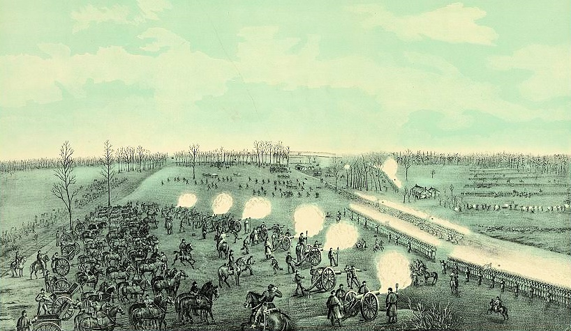 Hazen's Brigade in Action at Stones River