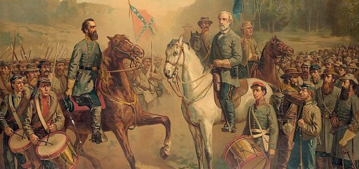 Last Meeting Between Generals Lee and Jackson