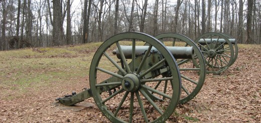 Confederate Artillery and Earthworks Kennesaw Mtn NBP