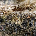 Civil War Battlescene at the Atlanta Cyclorama