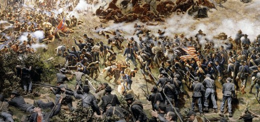 Civil War Battlescene at the Atlanta Cyclorama
