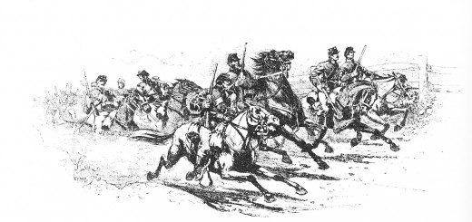 Union Cavalry Scouting