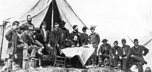 Gen. Quincy Gillmore and Staff at Charleston SC 1863