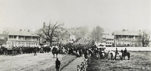 Procession to Gettysburg Cemetery Nov 19 1863