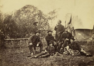 Union Army Engineers at Brandy Station VA January 1864
