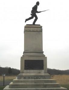 1st MN Monument
