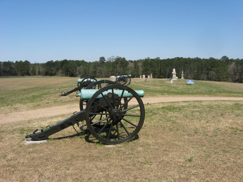 Union Artillery on Snodgrass Hill Chickamauga NMP