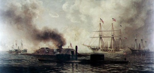 Battle of Mobile Bay by Xanthus Smith