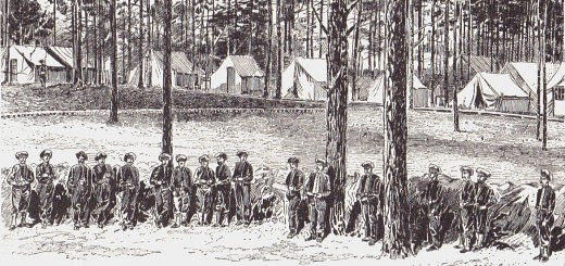 Headquarters of the Army of the Potomac Brandy Station 1864