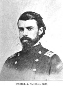Col. Russell Alger 5th Michigan Cavalry