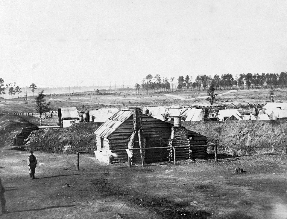 Fort Burnham, formerly Confederate Fort Harrison