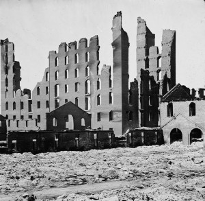 Ruins in Downtown Richmond April 1865