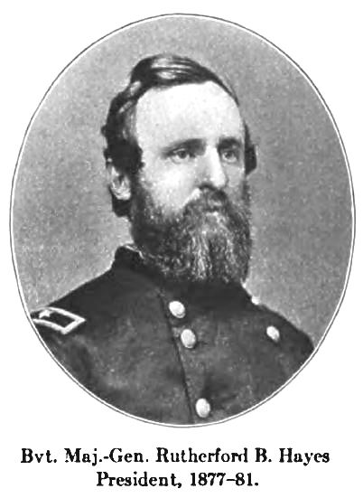 Gen Rutherford B. Hayes