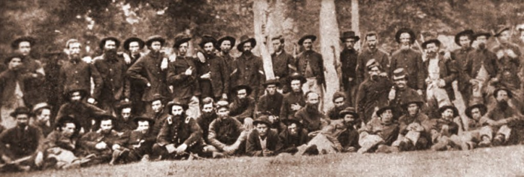 Members of the 125th Ohio Infantry