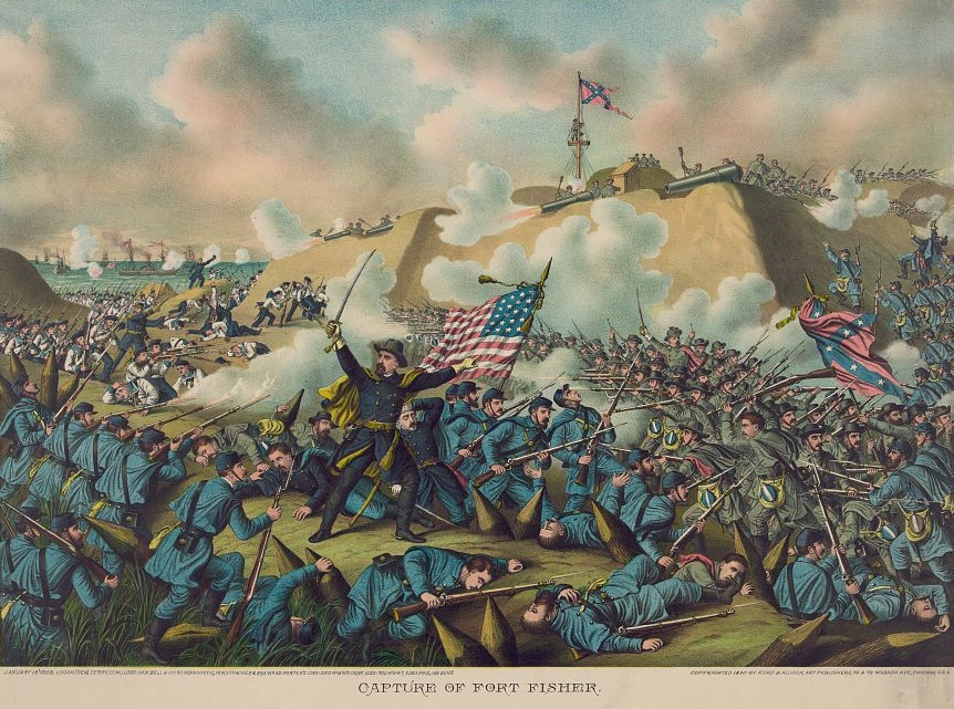 Capture of Fort Fisher by Kurz and Allison