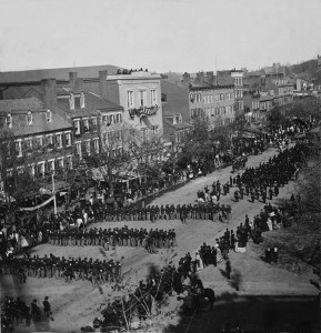 Abraham Lincoln's Funeral Procession in Washington DC