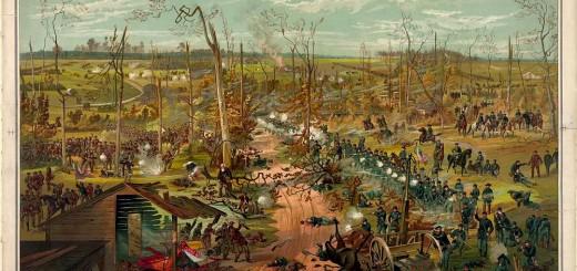 Battle of Shiloh April 6th 1862