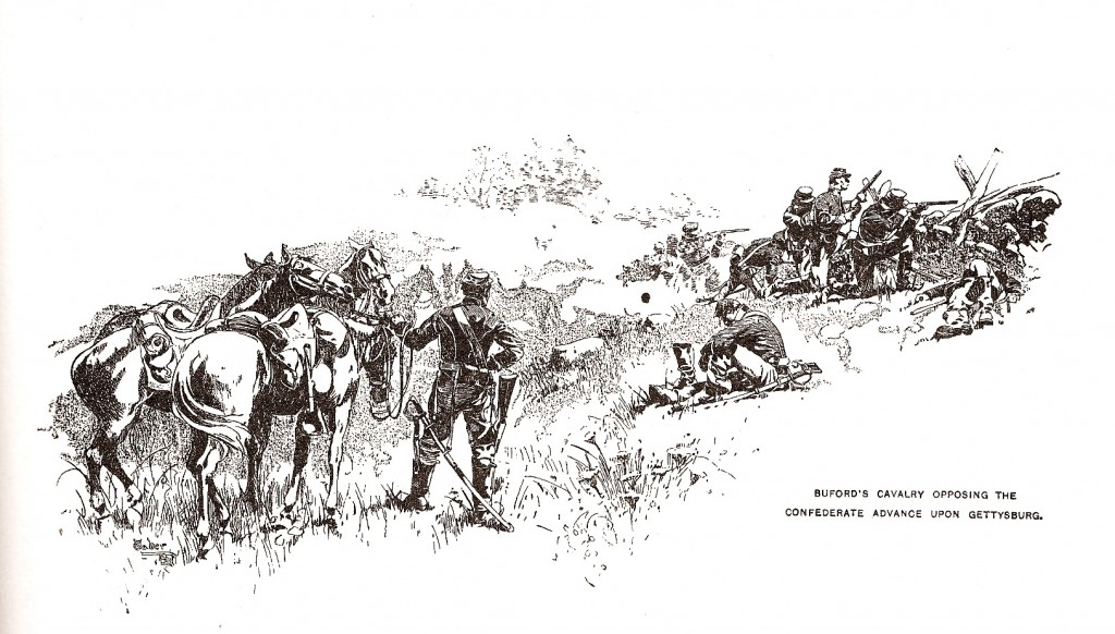 Buford's Cavalry at Gettysburg
