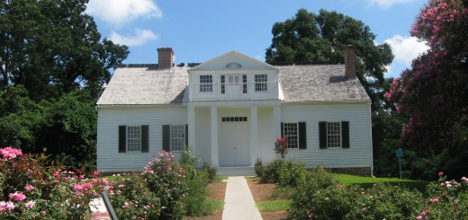 Modern View of the SHirley House in Vicksburg National Military Park
