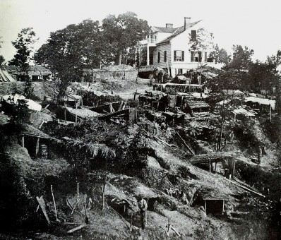 Shirley House During the Siege of Vicksburg