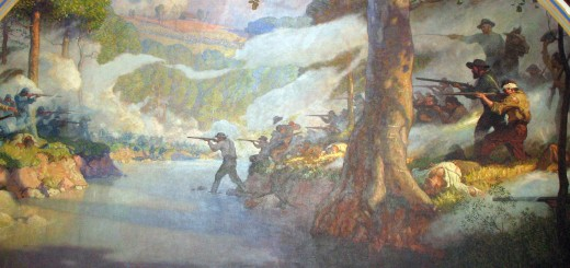 Battle of Wilson's Creek by N.C. Wyeth