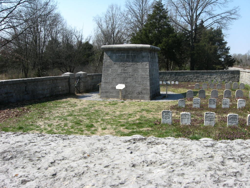 Hazen Monument at Stones River National Battlefield