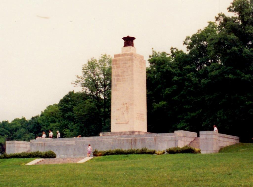 Eternal Light Peace Memorial at Gettysburg National Military Park