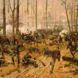 Battle of Shiloh  by Thure de Thulstrup