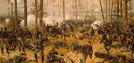 Battle of Shiloh  by Thure de Thulstrup