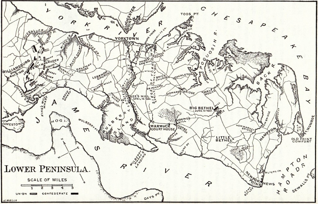 Map of Lower Peninsula