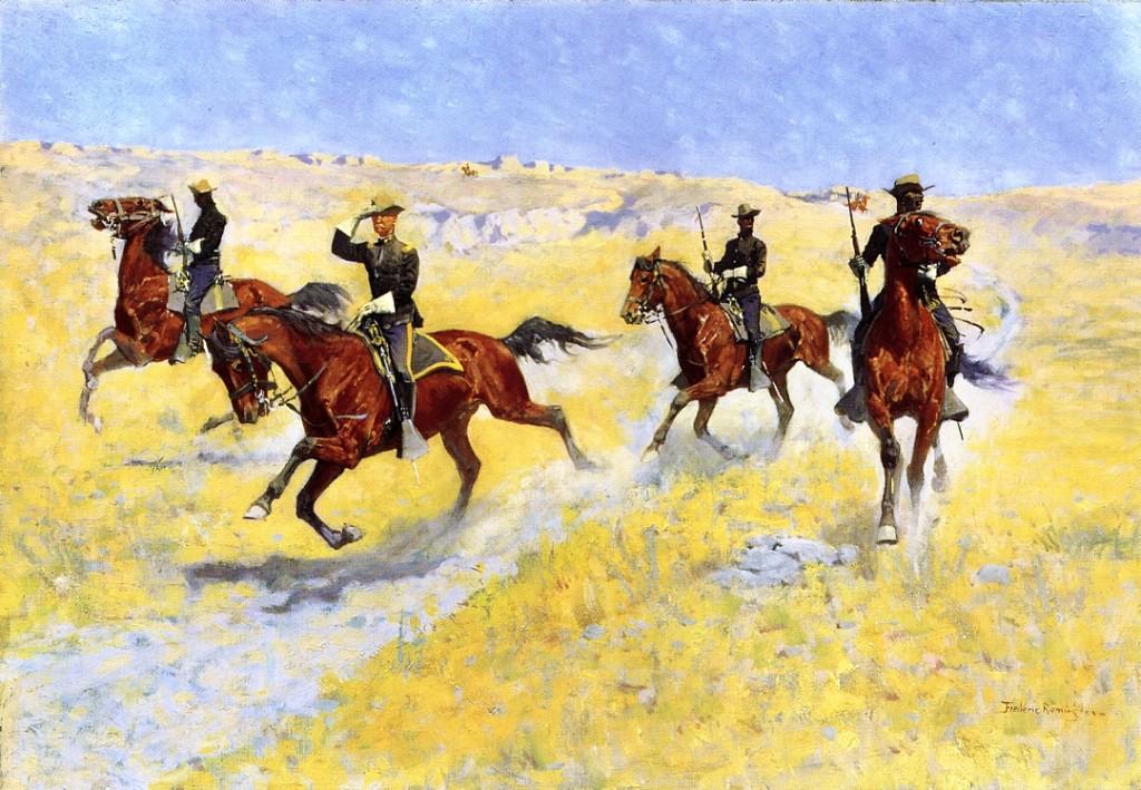 The Advance by Frederick Remington