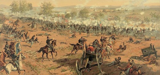 Battle of Gettysburg by Thure de Thulstrup