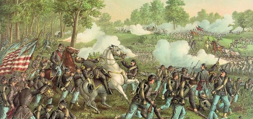 Battle of Wilson's Creek by Kurz and Allison