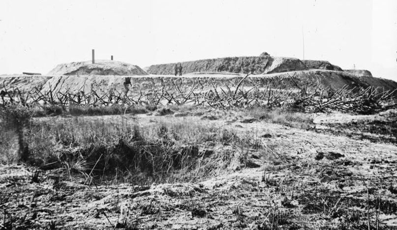 Fortifications in Front of Fort McAllister
